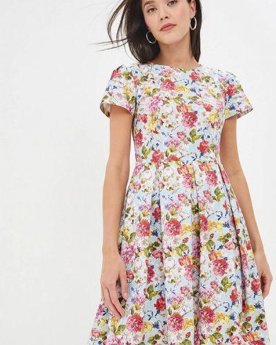 Разноцветное платье Gregory