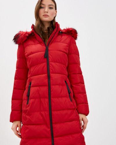 Красная теплая зимняя куртка Adrixx