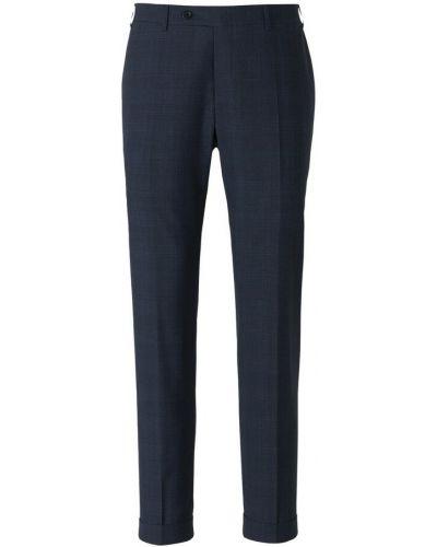 Niebieskie spodnie wizytowe Canali