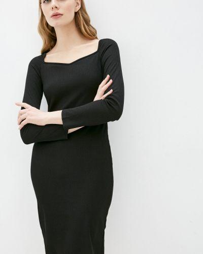 Прямое черное платье Hey Look