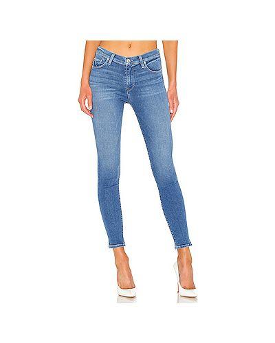 Джинсы-скинни mom с эффектом потертости Hudson Jeans