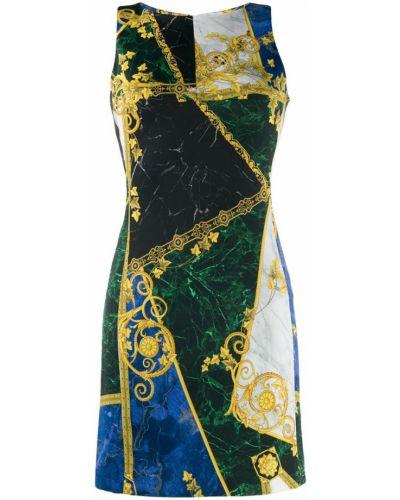 Платье без рукавов - черное Versace Collection