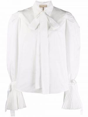 Белая длинная рубашка Elie Saab