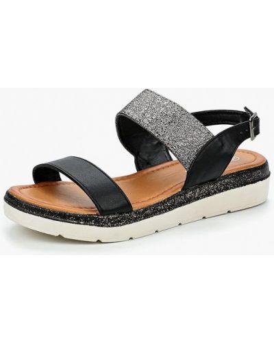 Черные сандалии Style Shoes