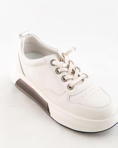 Бежевые ботинки осенние Prima D'arte