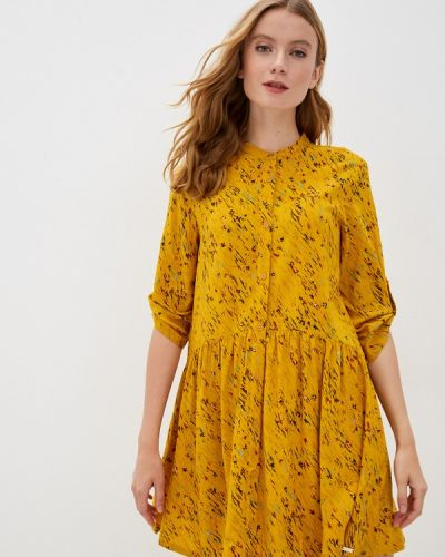 Желтое платье Q/s Designed By