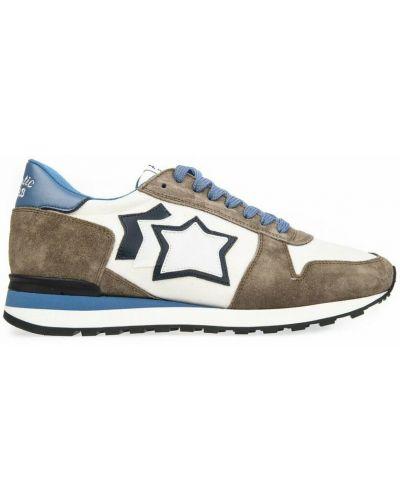 Brązowe sneakersy Atlantic Stars