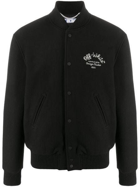 Хлопковая черная куртка Off-white