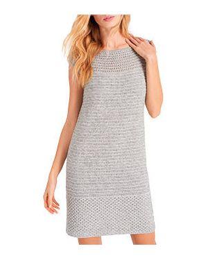 Деловое платье серое Luisa Spagnoli