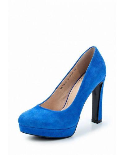 Туфли замшевые на каблуке Valley