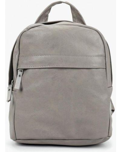 Кожаный рюкзак - серый Kawaii Factory