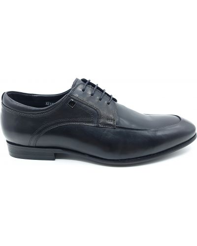 Кожаные туфли - черные Boss Victori