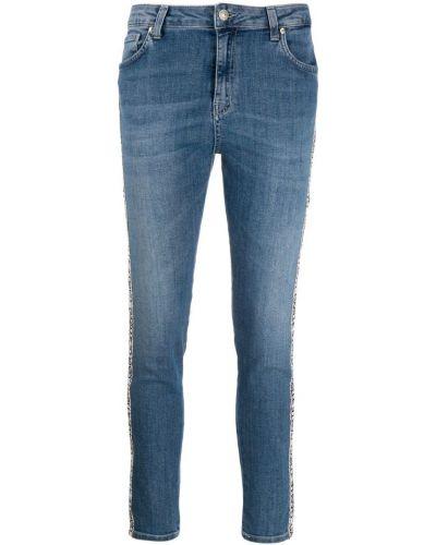 Зауженные джинсы - синие Gaelle Bonheur