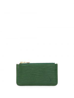 Portfel skórzany - zielony Louis Vuitton