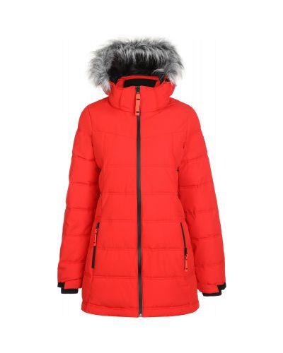 Утепленная красная куртка на молнии Icepeak
