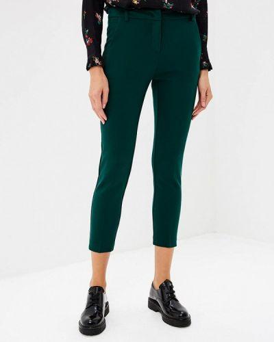 Зеленые брюки зауженные Pinko