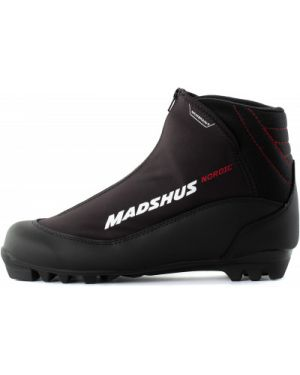 Теплые черные классические треккинговые ботинки на шнуровке Madshus