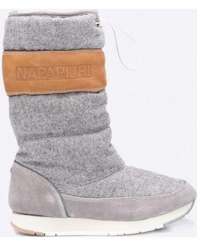 Серые зимние сапоги Napapijri