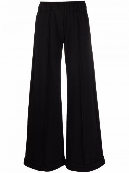 Черные хлопковые брюки 8pm