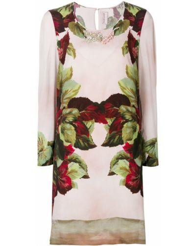 Платье розовое цветное Antonio Marras