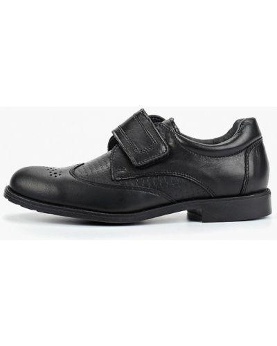 Туфли черные котофей