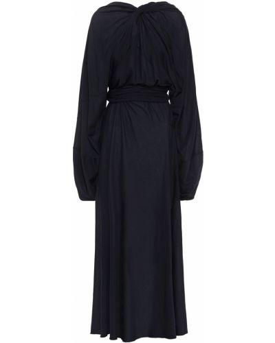 Шелковое платье макси Maison Margiela