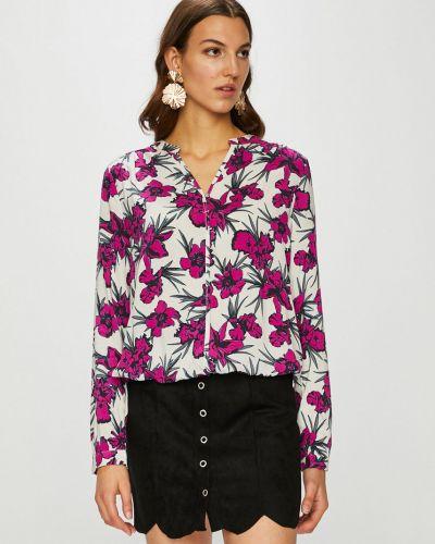 Блузка с V-образным вырезом прямая Broadway
