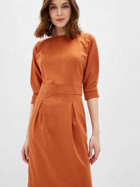 Коричневое платье La Biali