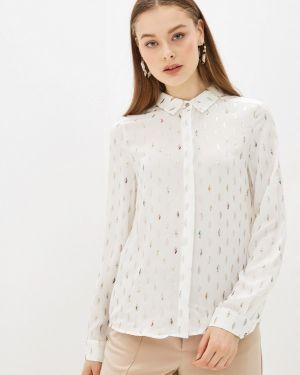 Блузка с длинным рукавом белая Sweewe