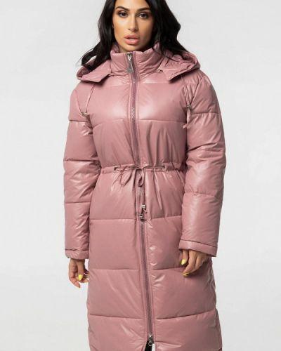 Розовая теплая куртка Whitefox