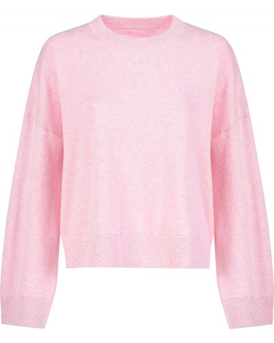 Хлопковый джемпер - розовый Zadig & Voltaire