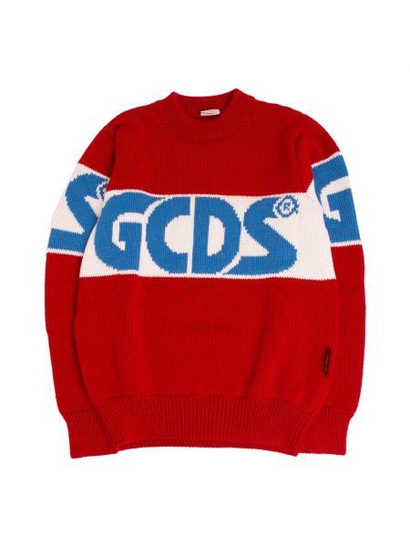 Czerwony sweter Gcds