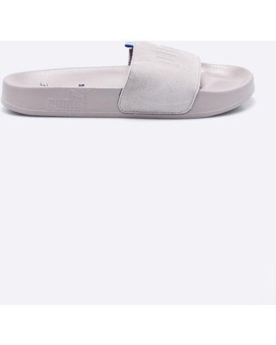 Бежевые сандалии текстильные Puma