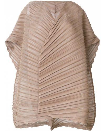 Блузка плиссированная расклешенная Issey Miyake