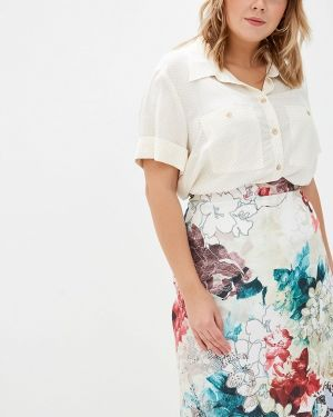 Блузка весенний бежевый Borboleta