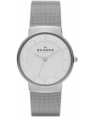 Zegarek szary srebrny Skagen