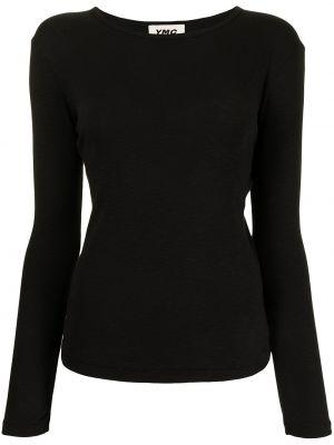 Czarna t-shirt bawełniana Ymc