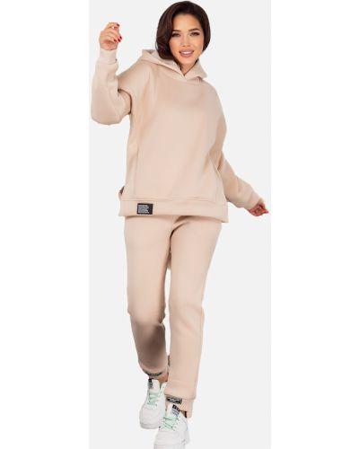 Теплый спортивный костюм - бежевый Demma
