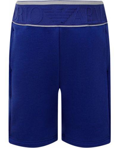 Синие шорты Armani Junior