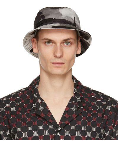 Czarny kapelusz bawełniany Dolce And Gabbana