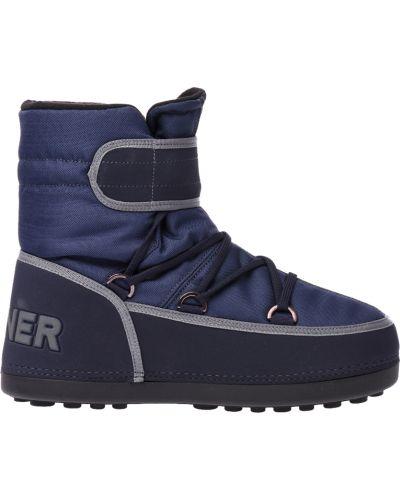 Ботинки осенние синий Bogner