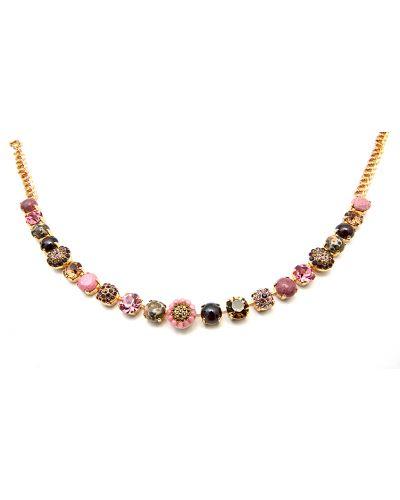 Розовое ожерелье Amaro