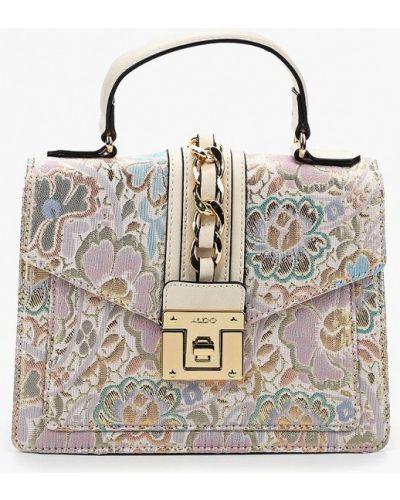 Кожаный сумка розовый из искусственной кожи Aldo