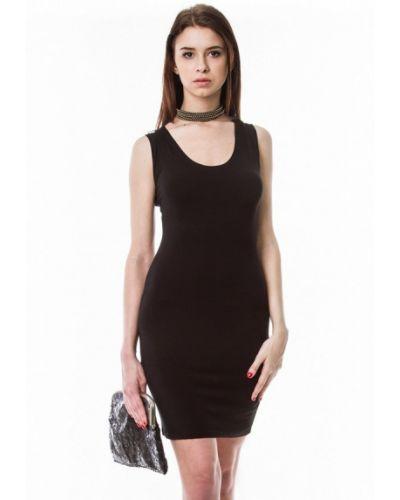 Черное коктейльное платье Vergans