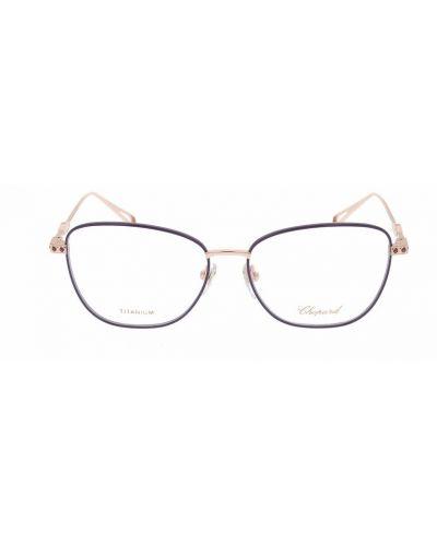 Czarne okulary Chopard
