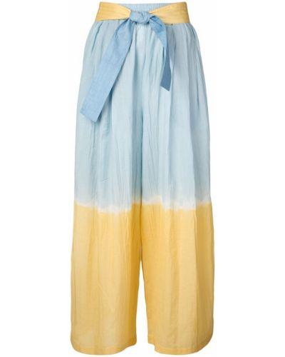 Укороченные брюки с поясом золотые Tome