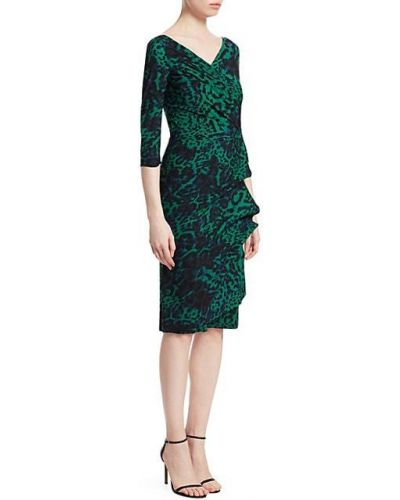 Платье-футляр с V-образным вырезом до середины колена Chiara Boni La Petite Robe