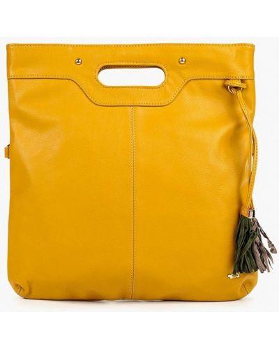 Кожаная сумка желтый из искусственной кожи Carpisa