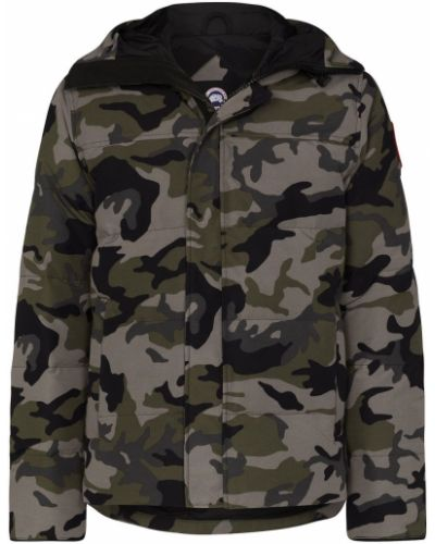 Дутая куртка - зеленая Canada Goose