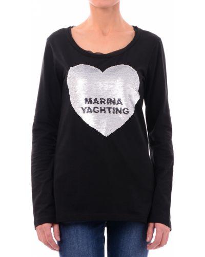 Черный джемпер Marina Yachting
